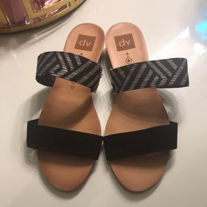 B&W sandals